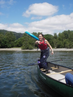 Team Building open canoe and kayak days Lake District