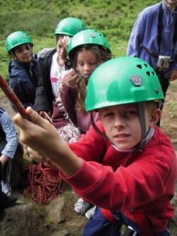 rock climbing abseiling Cumbria Lancaster Manchester