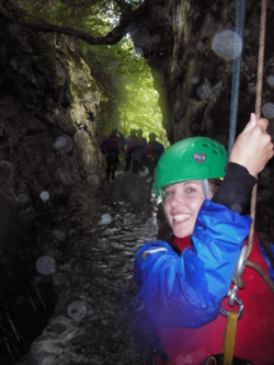 canyoning stag & hen party Keswick Cumbria Kendal Bowness