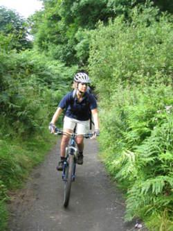 Mountain bike Lake district grizedal Cumbria