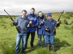 rifle shooting team building and corporate events uk