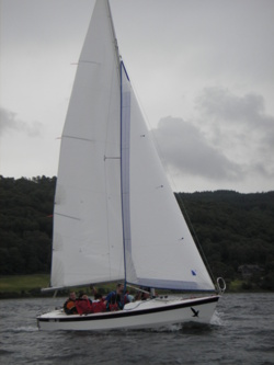 sailing tuition in the lake district