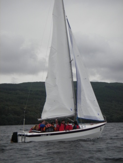 sailing holidays on coniston water in cumbria