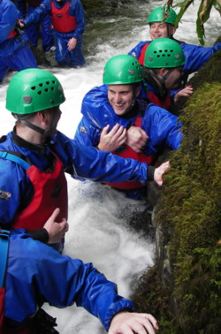 gorge Walking school trips Lake district Windermere