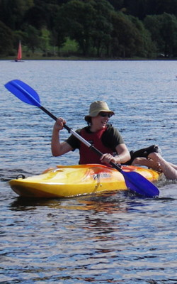 Kayak hen & stag days Bowness in the lake district
