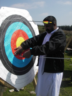 archery stag parties lancashire, manchester and the lake Distric