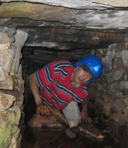 culvert scrambling for adult and youth groups in Lancashire and