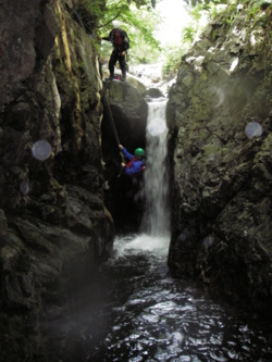 Canyoning stag & hen parties, windermere, Bowness, Lake Dist