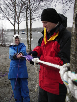 Knots lashings hitches courses and days in the lake district and