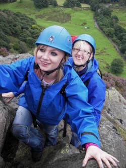 Hill climb scrambling activities Lake District