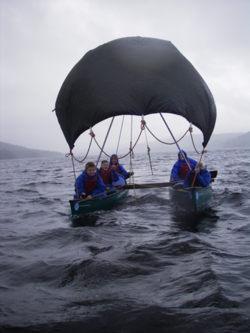 Open canoe sailing Lancashire, Manchester, Cumbria