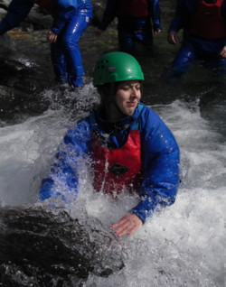 Hen party gorge scrambling activities in Coniston in the Lake Di