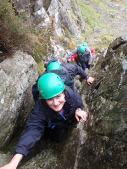 Hill scrambling for stag and hen parties langdales and coniston