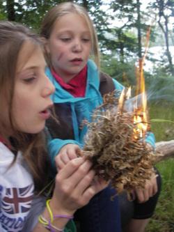 Bush craft family days Lake District