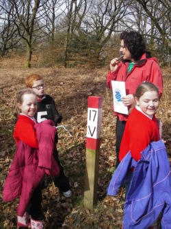orienteering for junior schools lancashire manchester Lake Distr