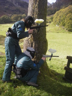 Paint ball stag hen parties corporate Lancashire uk