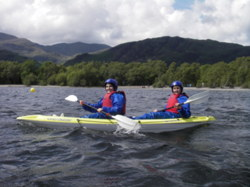 Kayaking Hen Party Lake Windermere Lake District