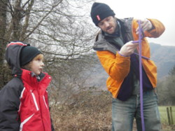 Knots, ropes and lashings courses Lancashire and Lakes