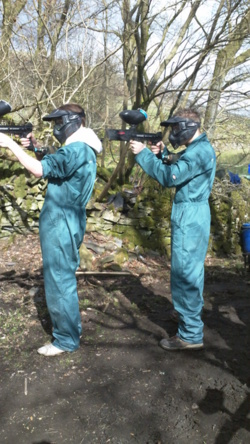 Youth and school paintballing Chorley, Blackburn Lancashire