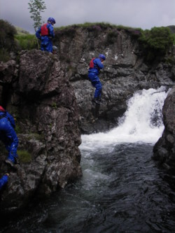 Canyoning Coniston Windermere Ambleside stag party uk