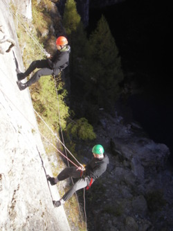 Abseiling school adventure activities trips Preston, Cholrey Lan