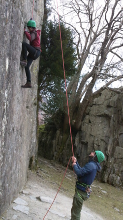 Rock climbing school trips Blackburn, Burnley, Preston, Rivingto