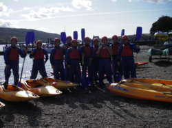 Charity sponsored canoe and kayaking events Lake District Lancas