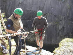 Charity sponsored abseiling events Bolton, Preston, Wigan Lancas