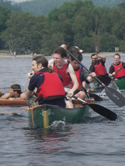 Charity canoe races and sponsored events uk