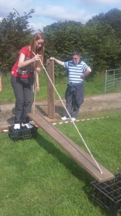 Team building teachers school away day Lancashire