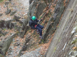 Abseiling team building Windermere Coniston uk
