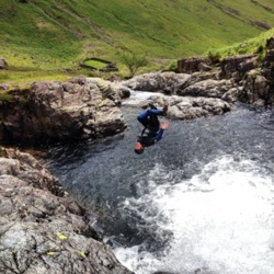 Eskdale adventure activities Esk canyoning