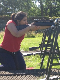 2014 hen party rifle shooting activities Windermere Lake Distric