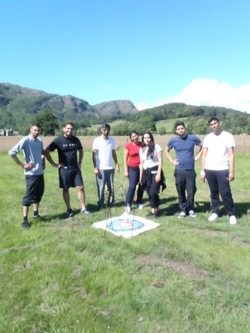2014 Archery family fun & games in Coniston Lake District