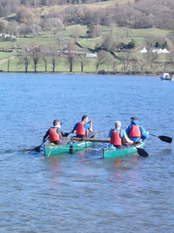 2014 raft open canoes Kendal adventure activities
