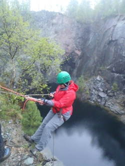 2014 abseiling adventure activities Windermere & Ambleside in th