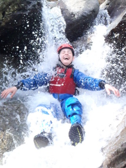 2014 holiday gorge walking adventure activities in Coniston The