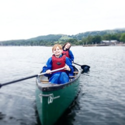 2014 sit on top kayaking Coniston, Windermere, Lake District