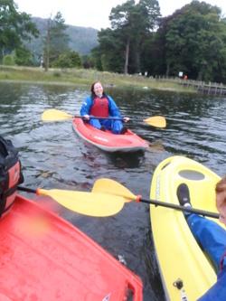 2014 open canoeing & kayaking Coniston Water Cumbria