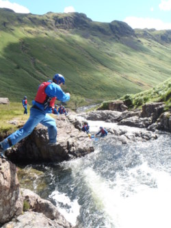 2014 Esk Eskdale Canyoning, stag party weekends Lake District