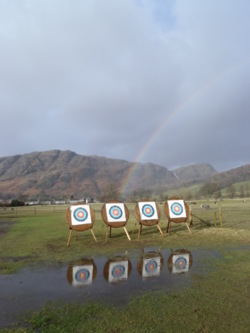 2014 archery activities Coniston Ambleside Windermere Grassmere