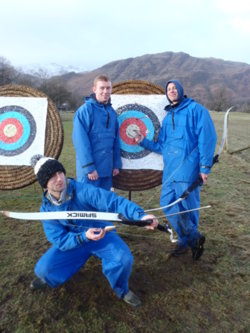 2014 archery days Coniston, Keswick, Kendal Lake District