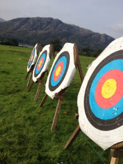 2014 Archery adventure activities trips Coniston Cumbria
