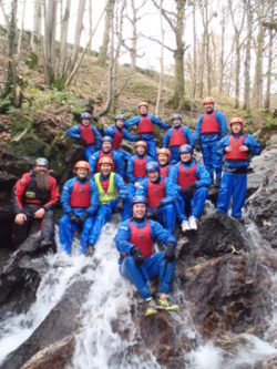 2016 Lake District canyoning,  best gorge walking Coniston