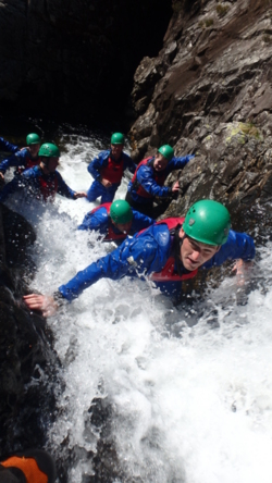 2016 lake district gorge walking coniston