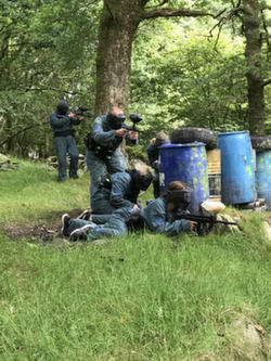 Lake District cumbria paintball games