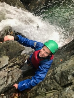 2018 gorge scrambling waterfall climbing sessions