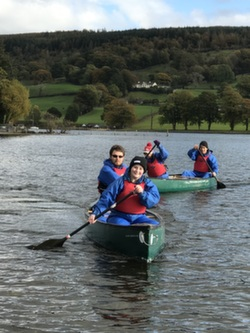 18 Canoeing and kayaking Coniston The Lake District Cumbria