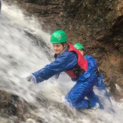 hen party water activities 2019 ghyll scrambling