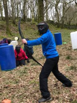 Archery tag Competition, Archery tag sites near Windermere, Ambl